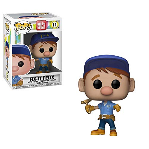 Funko Pop! Figura Disney Wreck-It Ralph 2 Pop 6 Fix-It Felix, Multicolor, Talla Unica