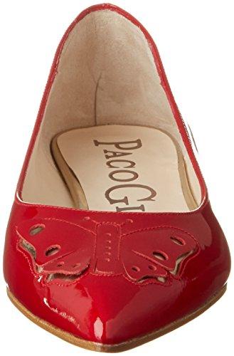 Paco Gil P3236, Bailarinas para Mujer Rojo (Passion)