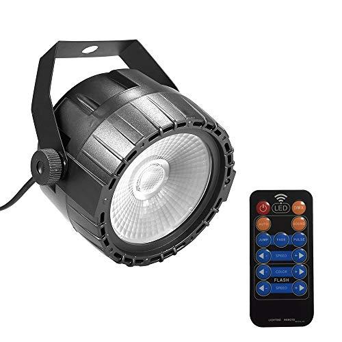 Lixada Led-discolicht met afstandsbediening, 30 W, RGB & UV podiumverlichting, heldere en gladde kleurenmix, 8 kanalen…