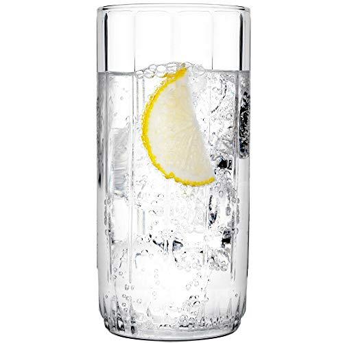 Pasabahce Glass Tumbler   Set of 6, Transparent, 310ml