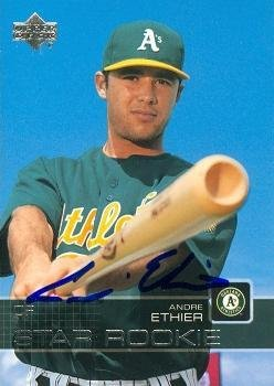 Andre Ethier autographed Baseball Card (Oakland Athletics...