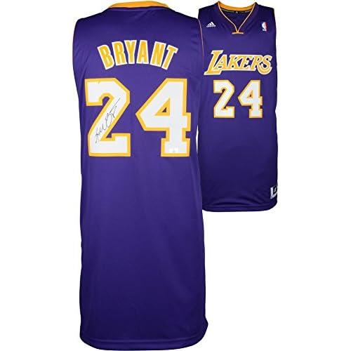 6588d073d19 lovely Kobe Bryant Los Angeles Lakers Autographed Purple Adidas Swingman  Jersey - Panini - Fanatics Authentic