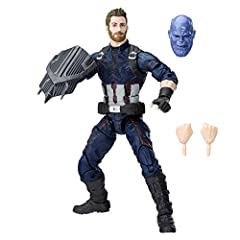 From the streets of Brooklyn to the intergalactic stage, Steve Rogers defends justice as Captain America. With the Marvel Legends Series, both kid and adult Marvel fans can start a legendary collection of comic- and movie-based Marvel charact...
