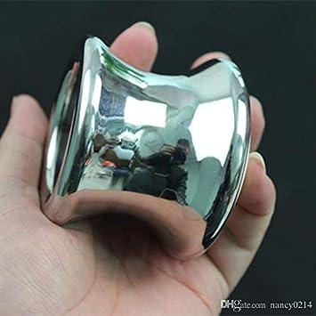 Amazon.com: ZHS - Anal de acero inoxidable con tapón para ...