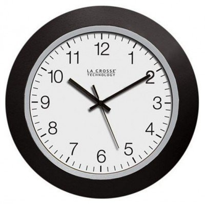 Outdoor Clocks & Thermometers Atomic Analog Clock 10in - Outdoor Atomic Analog Clock