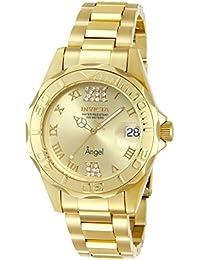 Women's 14397 Angel Analog Swiss-Quartz Gold Watch