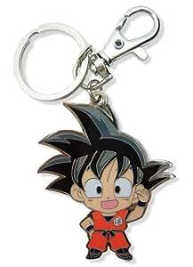 Great Eastern Entertainment Dragon Ball Z SD Goku Metal Keychain