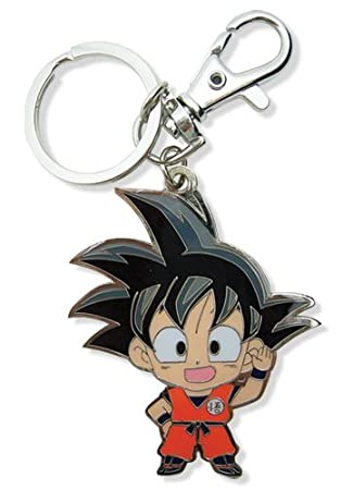 Dragon Ball Z Goku Sd llavero de metal: Amazon.es: Juguetes ...