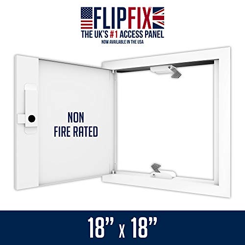 FlipFix Metal Faced Access Panel with Picture Frame Surround - Non Fire Rated 18