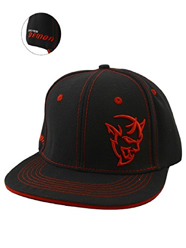 Dodge Demon Flat Brim Cap