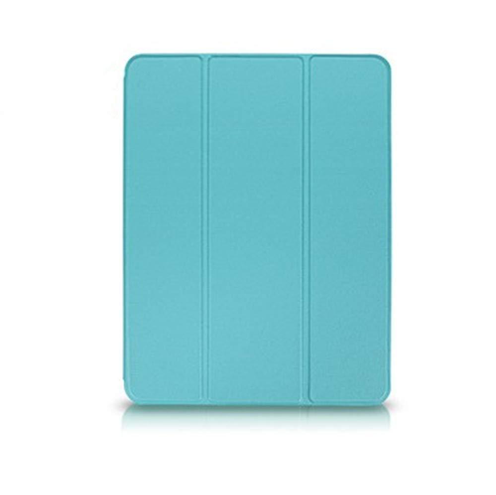 iPad Air 1 Air 2ケース - ゴム引きソフトTPUバック付きスリムカバー (内蔵ペンシルホルダースロットと自動スリープ/ウェイク機能) 三つ折りスタンドカバーシェル iPad Air 1 Air 2タブレット対応 Pencil Holder   B07NY79CZF