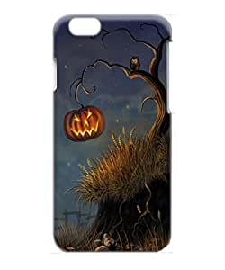 VUTTOO Iphone 6 Case, Halloween Pumpkin and Owl Slim Snap-on Hardshell Case for Apple iPhone 6 4.7 Inch
