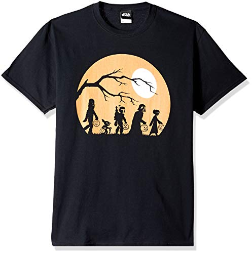 Star Wars Licensed Halloween The Haunt Men's Tee, Black XXXX-Large