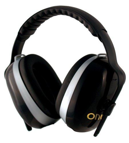 Jackson Safety H70 Onyx Headband Earmuff for Low Noise Envir