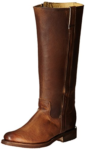 Justin Boots Women's 15 Inch Fashion Riding Boot, Tan Rustico, 7 B US