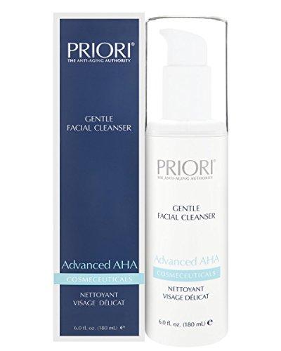 Priori Advanced Aha Gentle Facial Cleanser, 6 Fluid Ounce