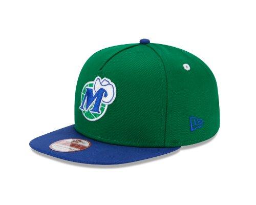 Mavericks Green (NBA Dallas Mavericks 9Fifty Turnover Snapback 2 Tone Cap, Hardwood Classic, Green/Blue)