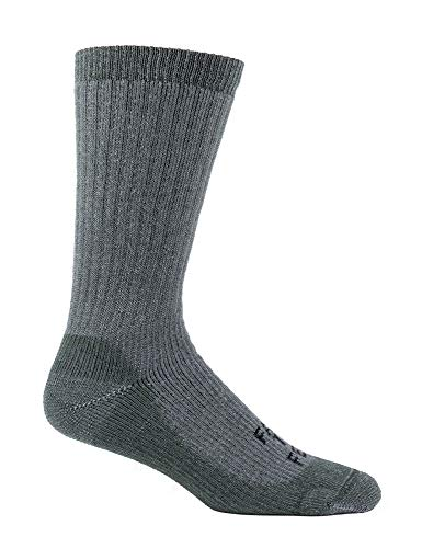 - Farm to Feet Columbus Midweight Boot Socks, Foliage Green, Large