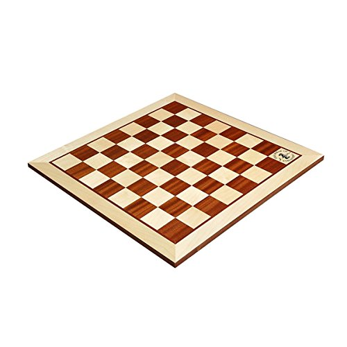 The House of Staunton Maple & Mahogany Wooden Chess Board - 2.25