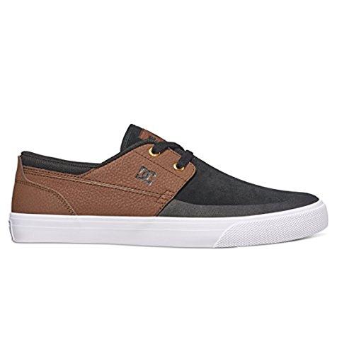 DC, Scarpe da Skateboard uomo Brown/Black