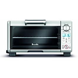 Breville BOV450XL Mini Smart Oven Countertop Oven, Brushed Stainless Steel