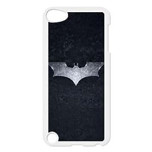 Funda de plástico de Batman The Dark Knight iPod Touch 5 caso funda funda caja del teléfono celular blanco cubre ALILIZHIA07160