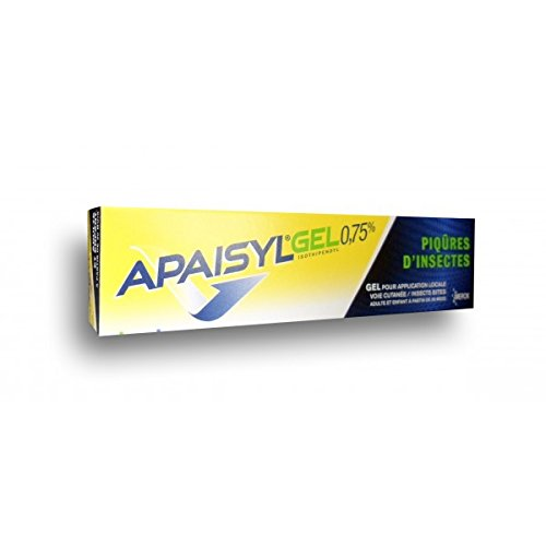 Merck Apaisyl Insect Bite Relief Gel 0.75% 30 Gr by Apaisyl