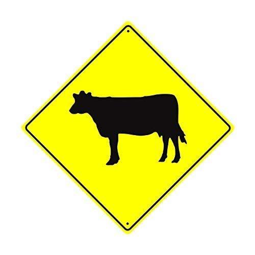 CHI Retro Metal Cartel Rind Graphic Farm Ranch Animal Vaca ...