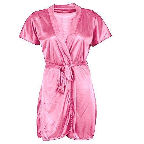 9c93e1ae2 Shararat Women Honeymoon Satin Robe