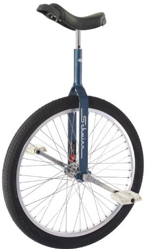 Schwinn 24'' Unicycle w/ 350mm Seat Post - Retro Blue by Schwinn