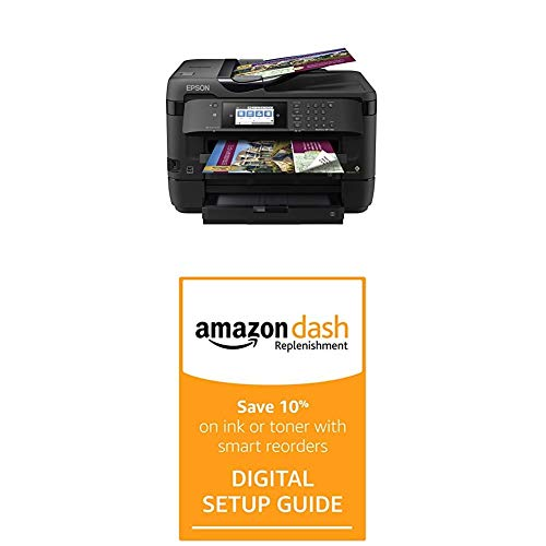 Epson Workforce WF-7720 Wireless Wide-Format Color Inkjet Printer with Dash Replenishment Digital Setup Guide