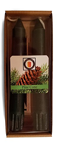 Taper Pinecone (Hubbardston Candle Company 100% Pure Beeswax 6