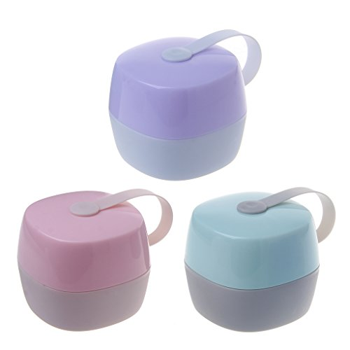 Baby Portable Dustproof Pacifier Storage Box for Travel Home EH