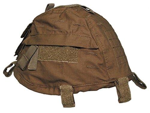 Helmbezug mit Taschen, größenverstellbar, coyote-tan