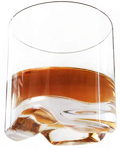 - FDCuvée Set of 4 Drama Free Unbreakable Double Old Fashioned Spirit/Whiskey Glass | 100% Tritan | Dishwasher safe -12 oz | Odorless | BPA Free | Not Glass Material | Indoor Outdoor Parties Camping