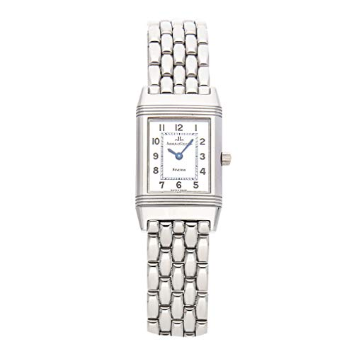 Jaeger-LeCoultre Reverso Mechanical (Hand-Winding) Silver Dial Womens Watch Q2608120 (Certified ()