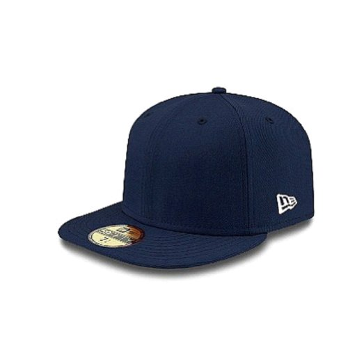 59 50 Fitted Hats (New Era Original Basic Navy 59Fifty Hat, Navy, 7)