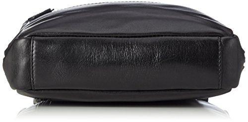 Jost - Bolso bandolera  Hombre, negro (Negro) - 4236-001 negro