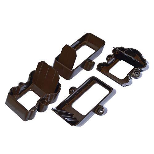 Fiberon 5 Packs of 2 Chestnut Brown Classic Stair Bracket