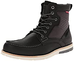 Levis Men's Dawson Chukka Boot, Black, 9 M US