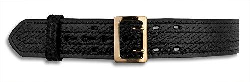 [해외]& G 바구니 직조 의무 벨트, 황동 버클/G&G Basket Weave Duty Belt, Brass buckle