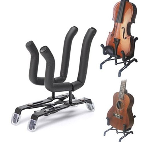 Squier Mini Player (Foldable Display Holder Flexible Stand for Violin Guitar Ukulele Erhu Music Player by Greenmarkets)