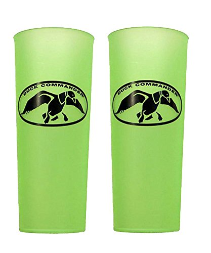 Set of 2 Green Duck Dynasty Duck Commander Uncle Si Robertson  Tea Cups