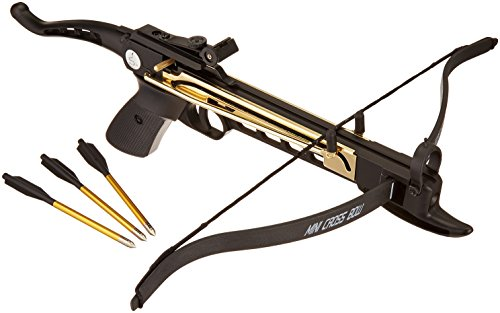 Ace Martial Arts Supply Cobra System K-8025 Self Cocking Pistol Tactical Crossbow, 80-Pound
