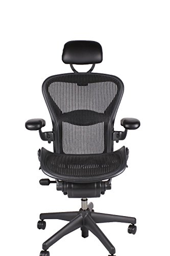 timeless design a5905 894ee Herman Miller Aeron Chair Classic with Headrest And Made in US - Import It  All