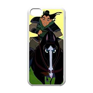 Mulan II iPhone 5c Cell Phone Case White NPO
