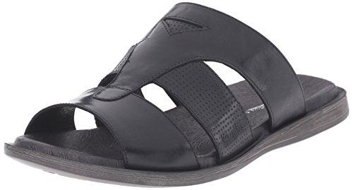 Bacco Bucci Men's Fallon Slide Sandal, Black, 13 D US