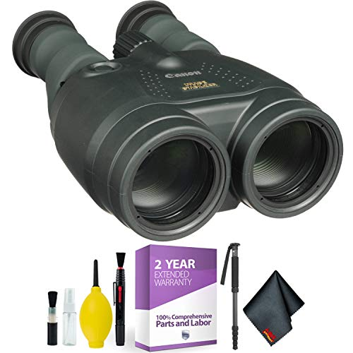 Canon 15x50 is All-Weather Image Stabilized Binocular + Cleaning Kit + 2 Year Extended Warranty
