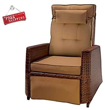 amazon com sts supplies ltd outdoor recliner chair furniture patio