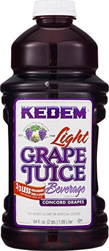 Kedem Lite Concord Grape Juice Kosher For Passover, 64 oz